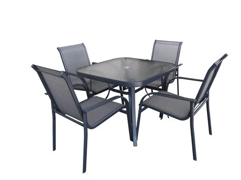 Best Patio Chairs by Modern Concept Glass Top Patio Table And Chairs With Glass