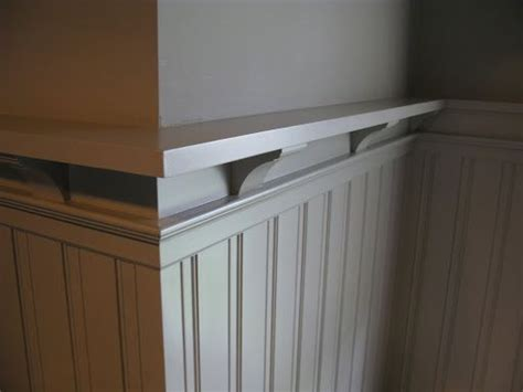 Wainscoting With Shelf by 17 Best Images About For The Home On Shelves