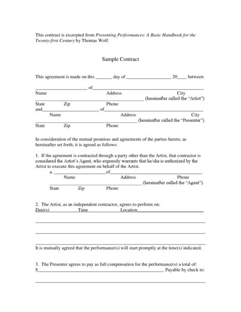 Contract Letter Draft Doc 460595 Agreement Format Between Two Companies Nondisclosure Agreement Between Two