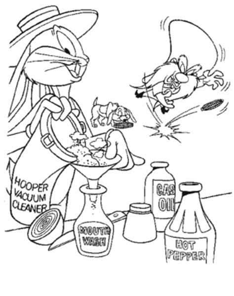 dibujos para colorear de bugs bunny thomas serapio plantillas looney tunes para colorear pintar e imprimir
