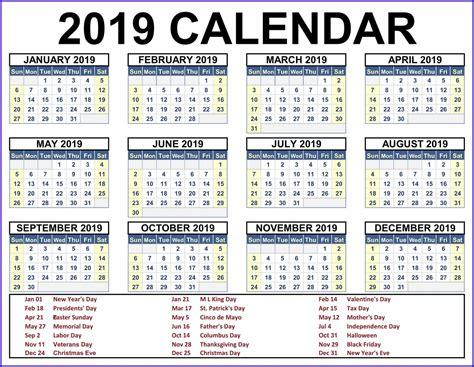 printable calendar   word excel template