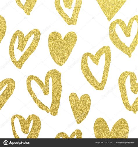 gold heart pattern gold hearts background www imgkid com the image kid