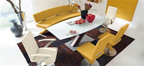chrome esszimmer sets 30 modern dining rooms