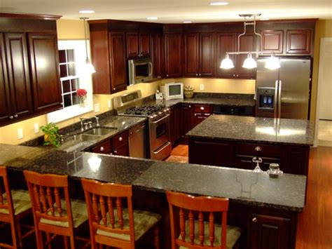 Kitchen Center Island Cabinets by Small Kitchen Cabinet Layout Ideas Pictures Afreakatheart