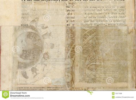 grungy antique tribal parchment background royalty free stock photos image 12577598