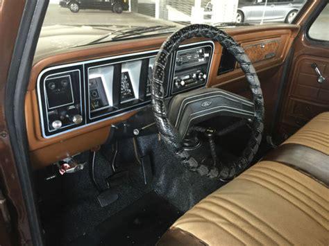 79 Ford Bronco Interior by 1978 Ford Bronco 4x4 2dr 4 Spd 351 Cleveland V8 1owner