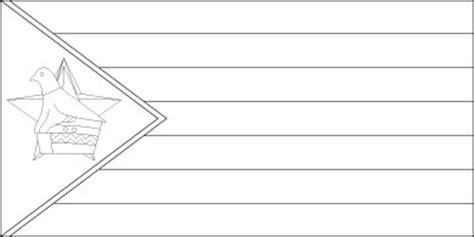 zimbabwe flag flag of zimbabwe