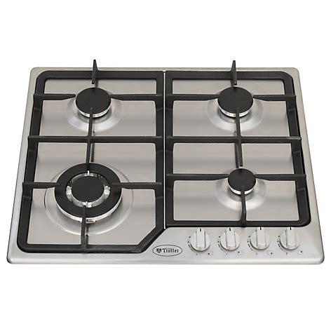 cocina encimera gas encimera 4 quemadores gas licuado falabella