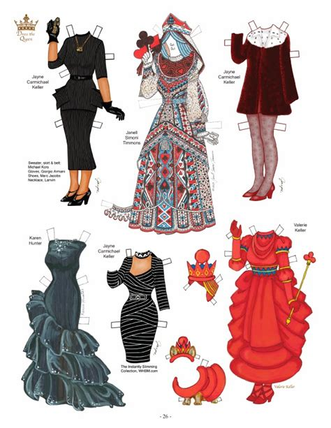 new year paper clothes s paper doll news new clothes for elizabeth ii