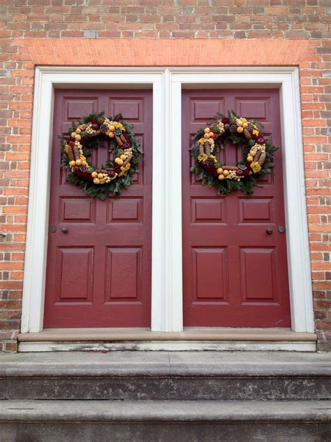 images wood rustic decoration red holiday facade christmas door season wreath