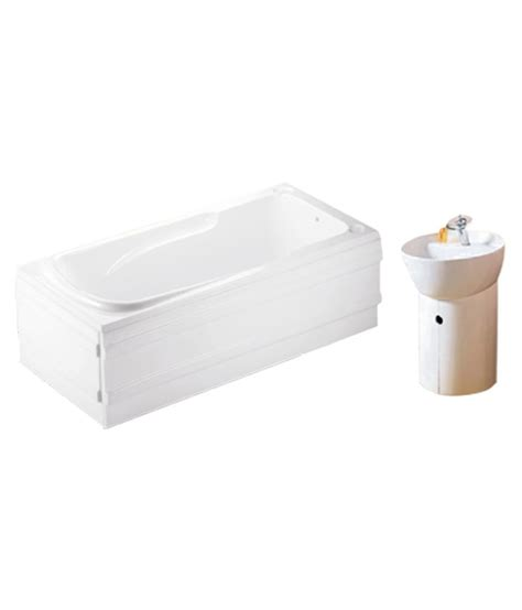 buy apple bathing systems white acrylic bath tub online at