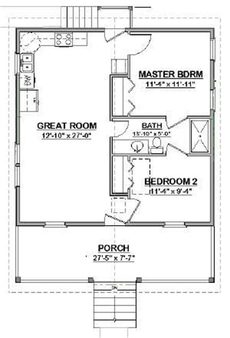 in law cottage house plans details about complete house plans 648 s f mother in law