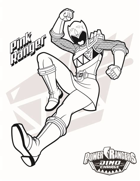 power rangers birthday coloring pages pink ranger download them all http www powerrangers