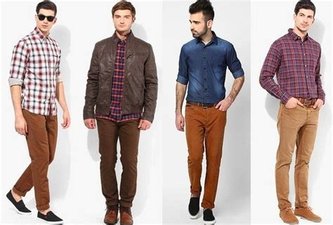 Celana Kolor Casual Standar what color shirts go with brown corduroy quora