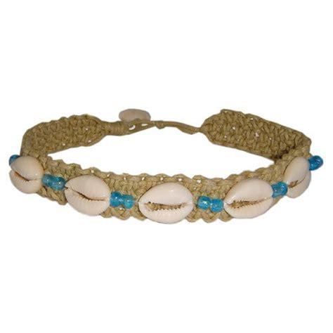 Handmade Hawaiian Jewelry - hawaiian jewelry cowry shell handmade blue bead