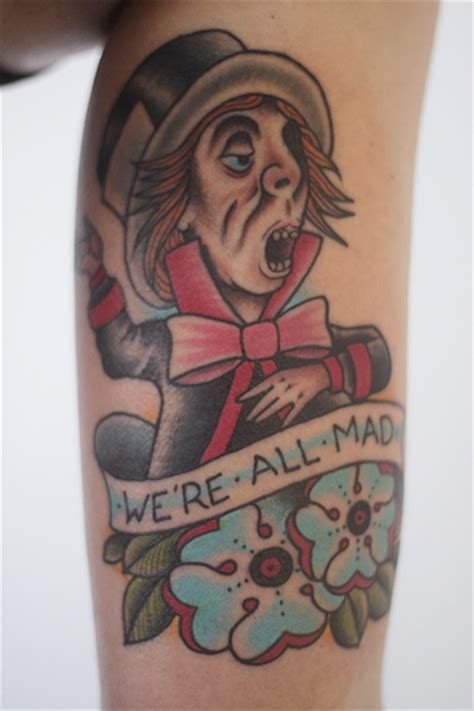 mad love tattoo mad hatter in tattoos
