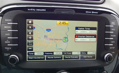 Kia Uvo System Review Top 10 Infotainment Systems Automotive Review