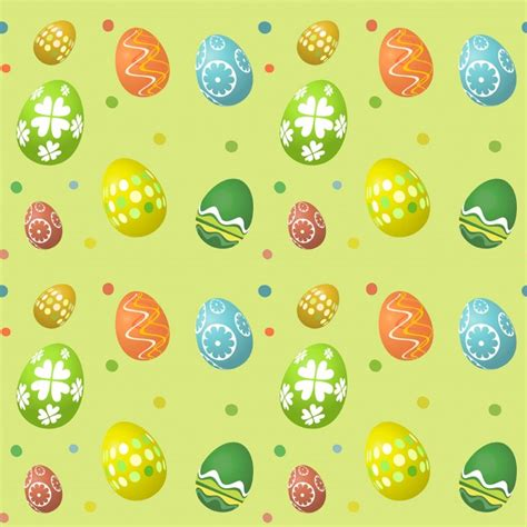 Seamless Egg Pattern | seamless easter egg pattern vector free download