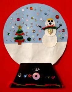snow globe craft idea for crafts and worksheets for