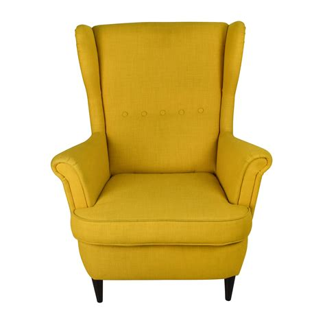 ikea armchair strandmon 46 off ikea strandmon accent armchair chairs