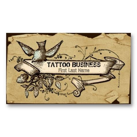 tattoo visiting card design 76 best images about business card ideas on