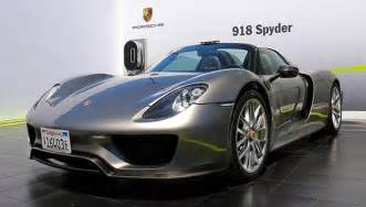 2014 Porsche 918 Spyder More Photos Of Production 918 Spyder From Pebble