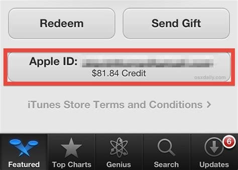 Check Itunes Gift Card Balance On Ipad - how to check an itunes app store account balance quickly from ios mac os x