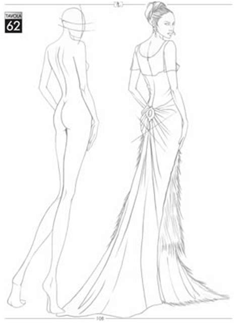 fashion illustration templates front and back the gallery for gt blank fashion sketch templates