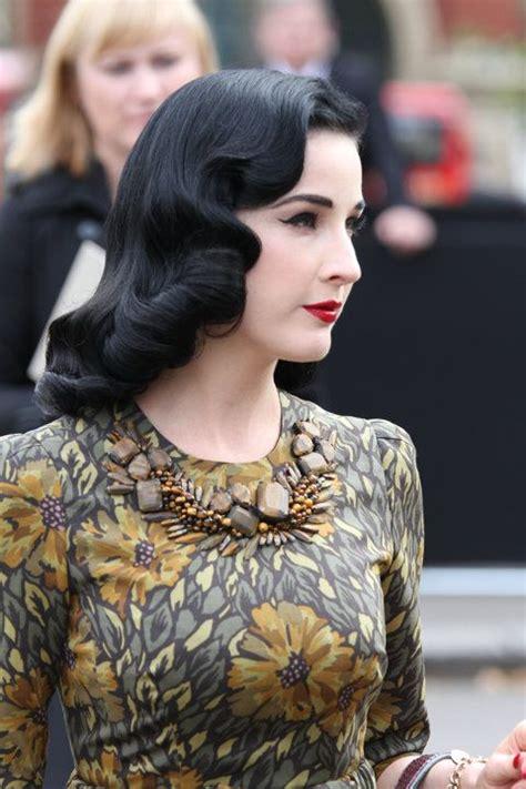 model rambut vintage vintage wave model rambut bergelombang yang populer di