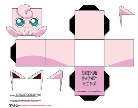Jigglypuff Papercraft - 46 best images about on
