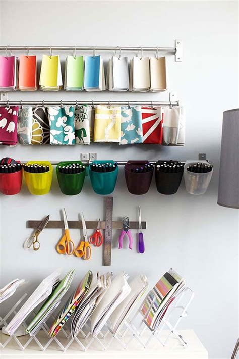 to organize organize your craft room
