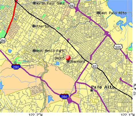 map of stanford california 94305 zip code stanford california profile homes