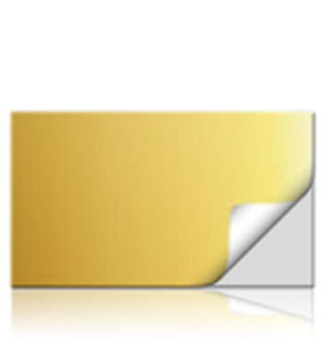 Aufkleber Sonderfarbe Gold das richtige folien material f 252 r aufkleber mit sonderfarbe