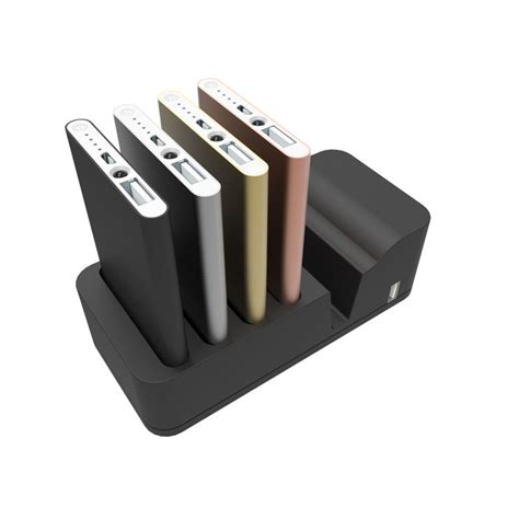 power banks specialist power bank charging station black