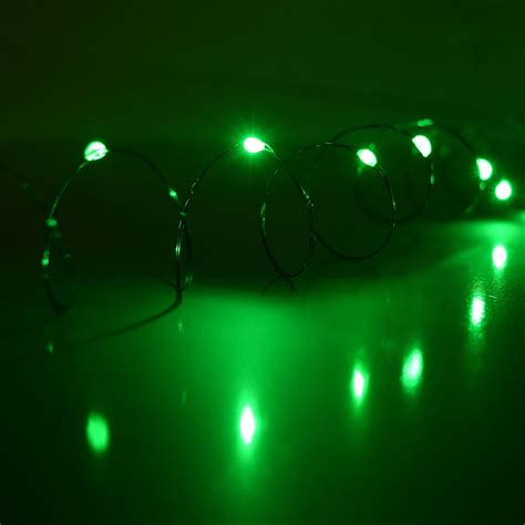 led battery operated ultra thin wire string light strand