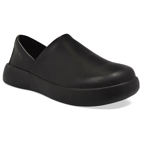 soft science mens pro slip on pu black lightweight but