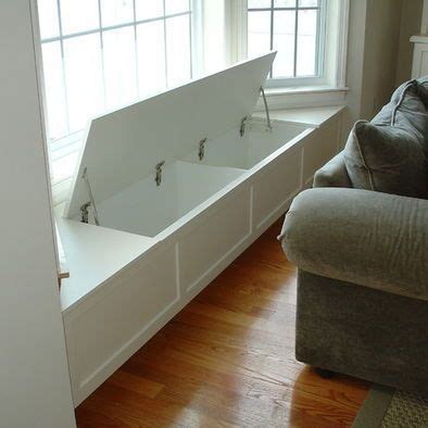 window seat hinges 1000 ideas about window seat storage on seat