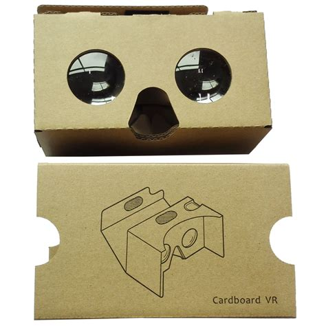 Cardboard Reality 2nd Generation For Smartphone cardboard reality 2nd generation for smartphone up to 6 inch small lens