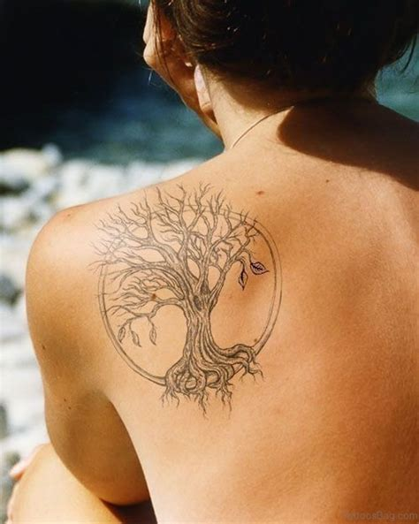 tree shoulder tattoo 50 stylish tree tattoos on shoulder