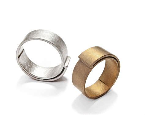 Moderne Eheringe Wei Gold individuelle handgefertigte trauringe und hochzeitsringe