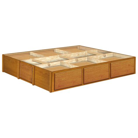 Waterbed Frame With Drawers by Waterbed Pedestals Foundations