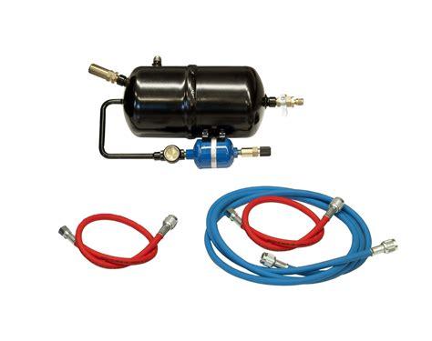 act flushing kit raryf installation kit robinair