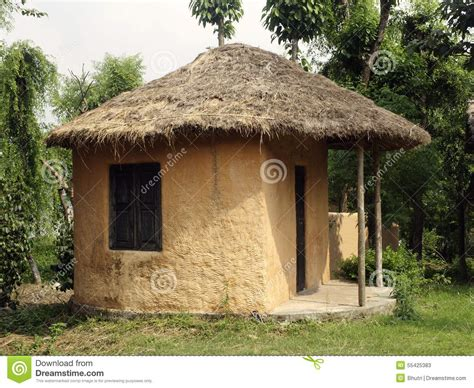 Small Home Villages Small House In A Stock Photo Image 55425383