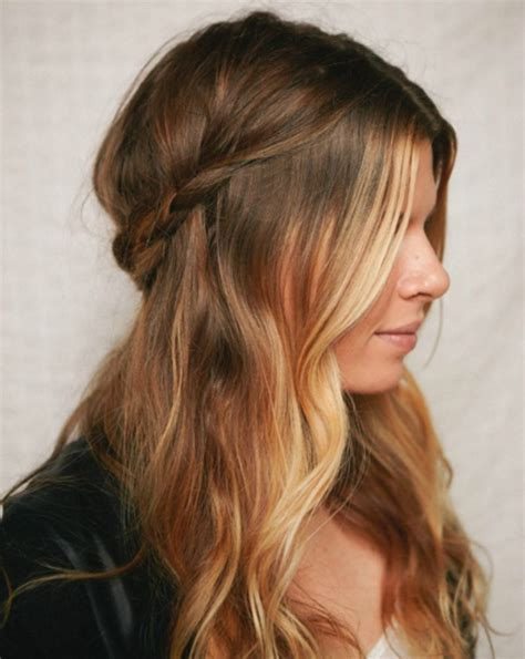 hairstyles for hair down to your shoulders 21 gorgeous half up half down hairstyles babble