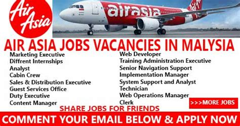 Airasia Malaysia Career | this job find career oriented and dream job