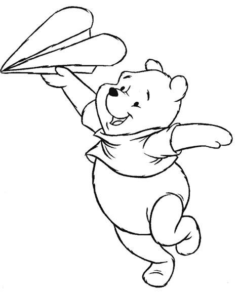 imagenes de un winnie pooh para colorear dibujos para colorear de winnie the pooh ursinho puff