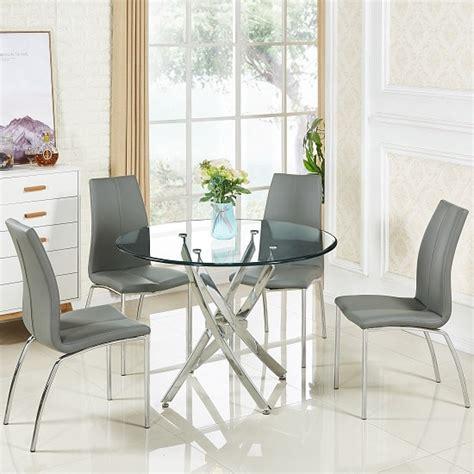Glass Dining Table Set Price Daytona Glass Dining 4 Seater Glass Dining Table Sets Price Comparison