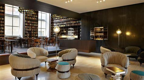 wallpaper  boutique hotel  spa zurich switzerland  hotels   library room