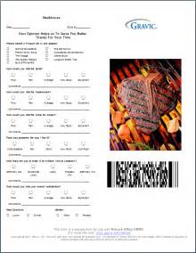 restaurant survey template restaurant survey with pdf417 barcode
