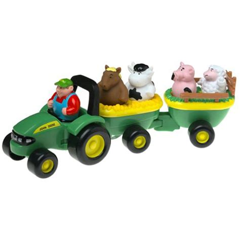 backyard animal sounds john deere animal sounds hayride toddler farm playset